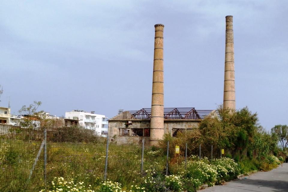 Χανιά: Σε χώρο πρασίνου μετατρέπεται οικοπεδική έκταση πρώην εργοστασίου